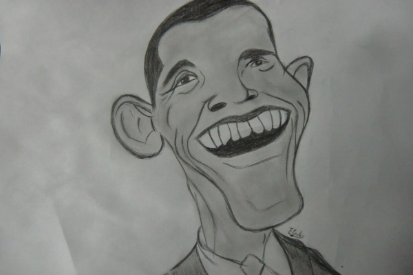 Barack Obama par eyesonfire